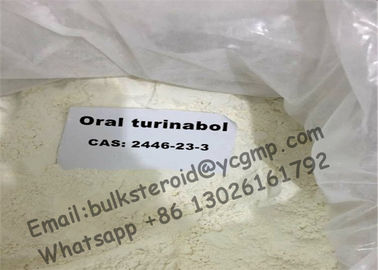 چین Oral Anabolic Steroids Primoteston Testosterone Turinabol 4-Chlorodehydromethyltestosterone کارخانه