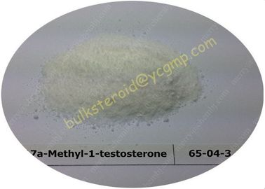 چین Methyltestosterone Raw Testosterone Steroids Methyl Testosterone 17a-Methyl-1-testosterone 65-04-3 کارخانه