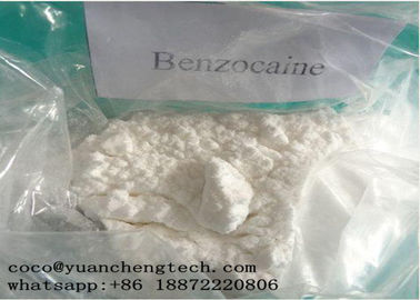 چین CAS 94-09-7 Local Anesthetic Drugs Benzocaine Powder High Purity GMP ISO Certification کارخانه